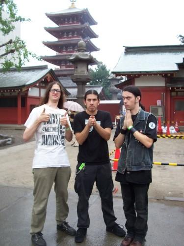 impaled japanese temple