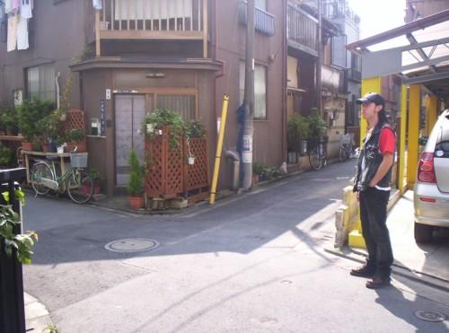ross sewage sad in Tokyo
