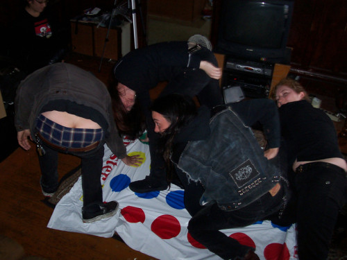 Or like that time Ludicra played Twister