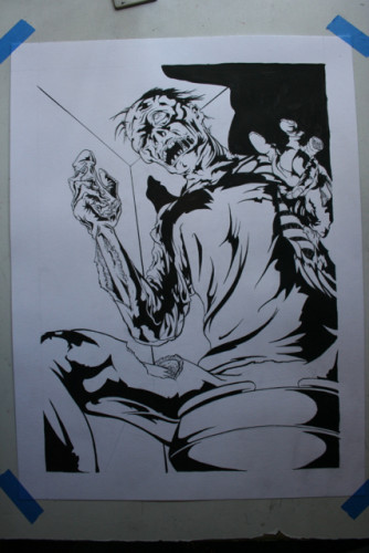 zombie in ink