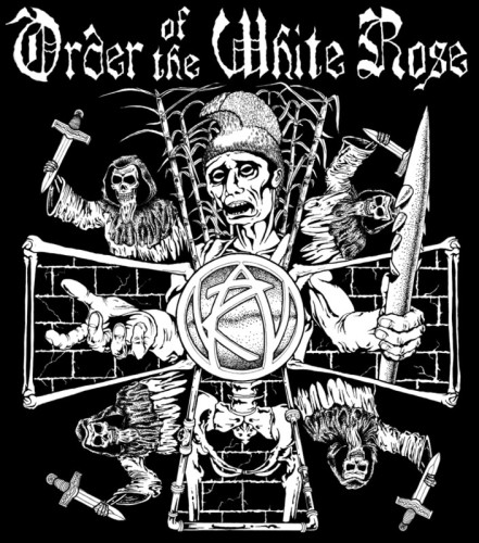 order of the white rose tee shirt