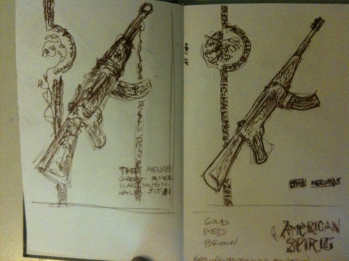melvins sketch book