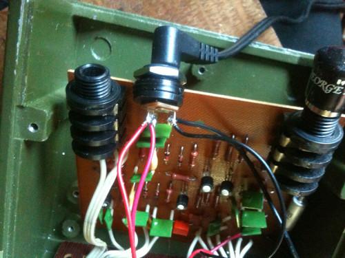 Sovtek Big Muff Pi power adapter