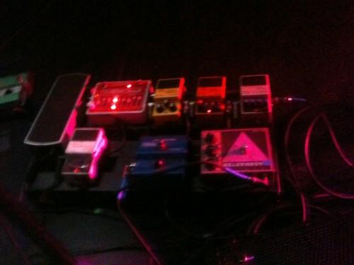 Big Business guitar pedal board