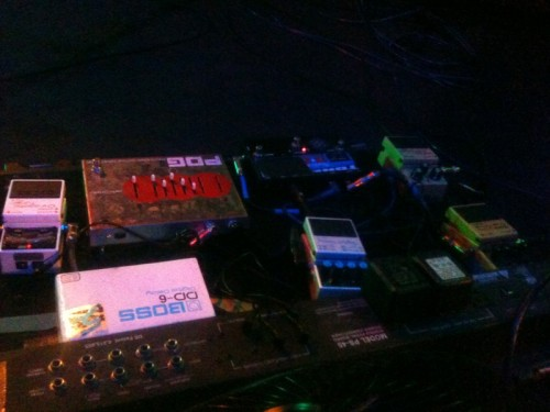 Big Business bass pedalboard