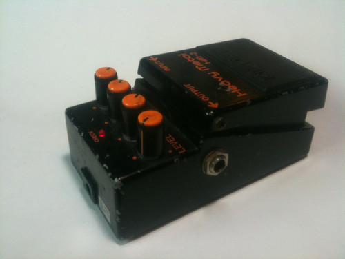 BOSS HM-2 Heavy Metal pedal