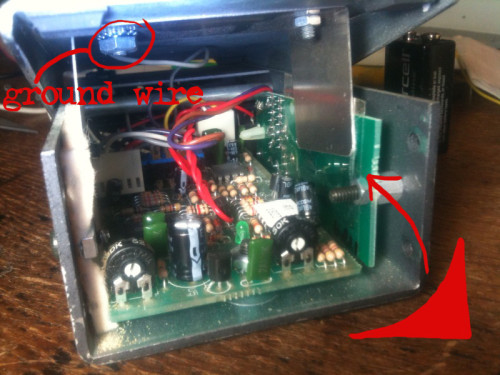 DOD FX17 capacitor