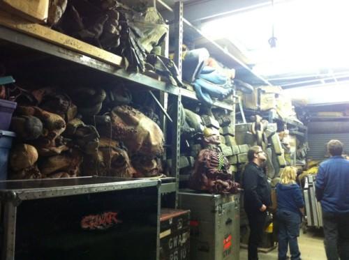 Slave Pit Inc GWAR shelves