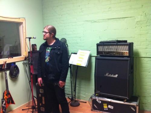 GWAR recording studio