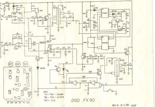 dod fx90 schematic