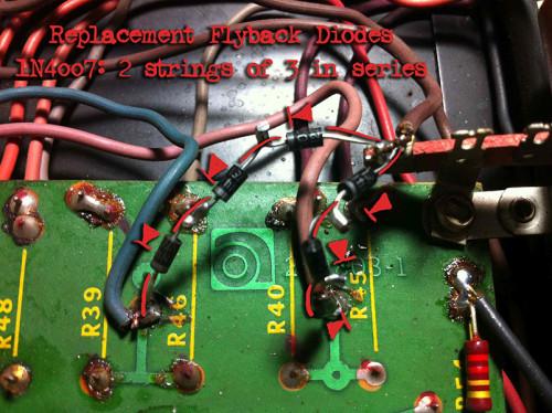 ampeg v4-b flyback diodes in place