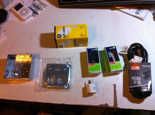light bulb limiter parts