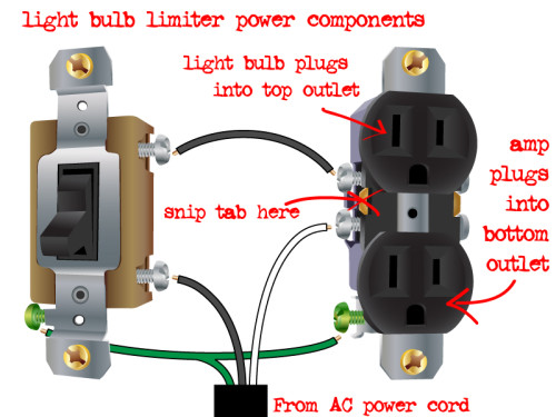 light bulb limiter design