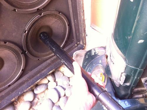 vaccuum speaker dust cap