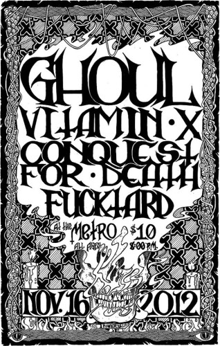 Ghoul Metro flyer 2012