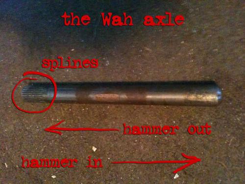 wah axle