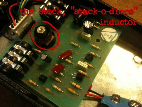 stack o dimes inductor
