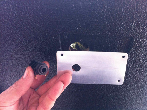 Ampeg 8x10 speaker socket