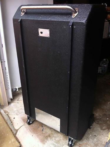 Ampeg 8x10 refurb back done
