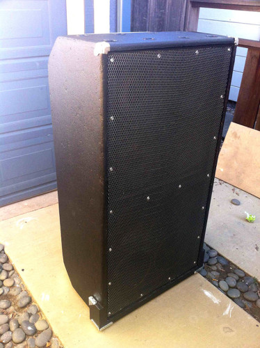 Ampeg 8x10 refurb finished