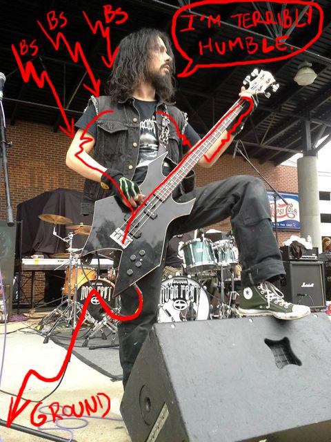 S H I E L D ing a guitar – Doktor Ross Sewage