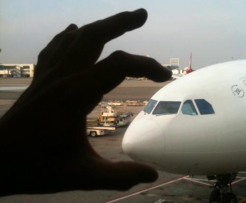 Fuck you, plane. I crush you!