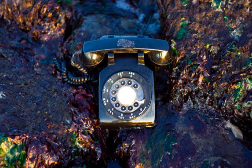 Phone numbers just sound better with a rotary dial.